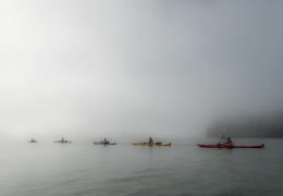 Awsome Kayaking in the mist