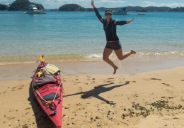 Kayking in the Bay Of Islands